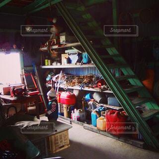 農機具倉庫の写真・画像素材[3619092]