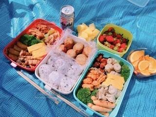 ピクニック お弁当の写真・画像素材[3654049]