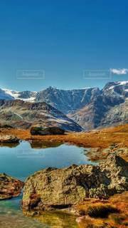 岩山の眺めの写真・画像素材[3614885]