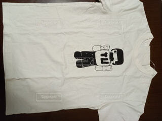 イラストTシャツの写真・画像素材[3758433]
