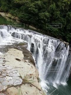 十分瀑布の写真・画像素材[3625153]