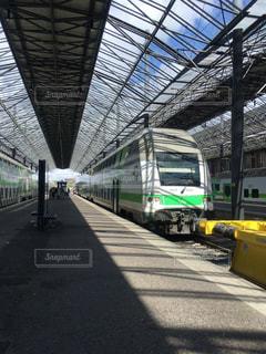 フィンランドの駅の写真・画像素材[1053597]