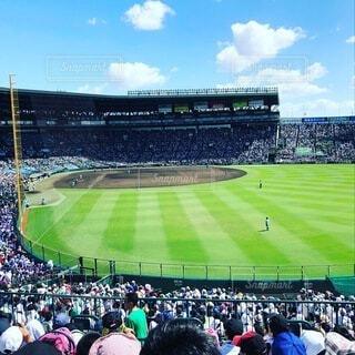 夏の高校野球 甲子園の写真・画像素材[3627705]