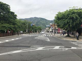 長野 上田城前風景の写真・画像素材[3627714]