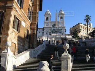 ローマ スペイン広場の写真・画像素材[3630141]