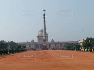 インド大統領官邸の写真・画像素材[3633458]