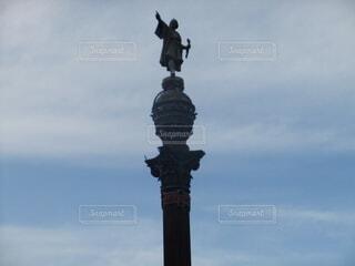 コロンブスの塔の写真・画像素材[3697709]