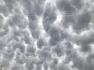 乳房雲の写真・画像素材[3635468]