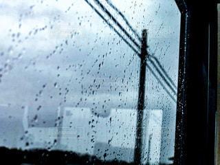 雨の眺めの写真・画像素材[3635442]