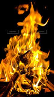 焚火の写真・画像素材[3860787]