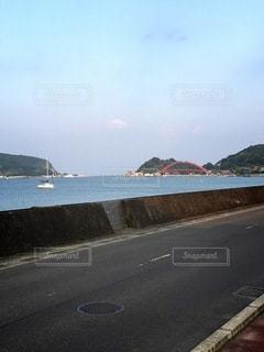 港にかかる橋の写真・画像素材[3634767]