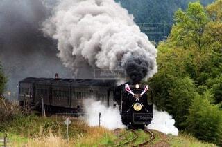 山口県→島根県 slやまぐち号の写真・画像素材[3661794]