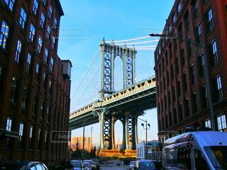 マンハッタン・ブリッジの写真・画像素材[3658537]