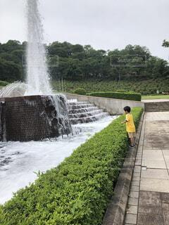 噴水の写真・画像素材[3645932]