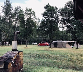 キャンプの写真・画像素材[3649679]