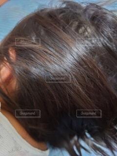 自毛なのに茶色。の写真・画像素材[3658873]