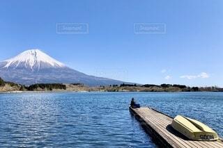 富士山と田貫湖の写真・画像素材[3648617]