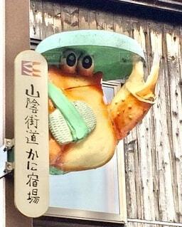 カニで有名な町 兵庫県香住町の写真・画像素材[3696697]