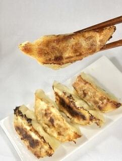 焼き餃子の写真・画像素材[3698820]