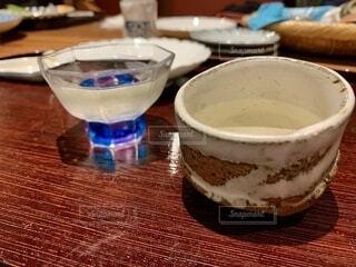 日本酒 お猪口の写真・画像素材[3692838]
