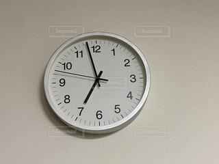 側面の時計の写真・画像素材[3650361]