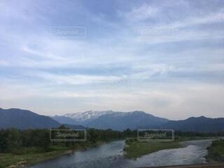 里山の美しい風景の写真・画像素材[3662726]