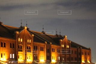 夜の都市の眺めの写真・画像素材[3668260]