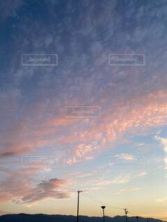 空の雲の群の写真・画像素材[3652803]