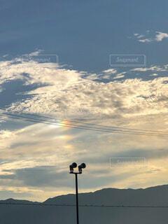 彩雲の写真・画像素材[3653071]