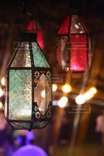 ランプのクローズアップの写真・画像素材[3704746]