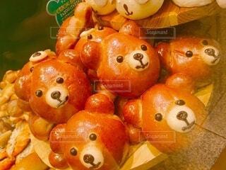 くまちゃんパンの写真・画像素材[3656124]