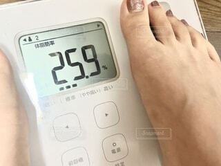 体脂肪率の写真・画像素材[3685494]