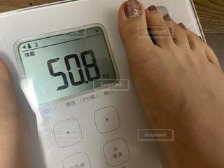 体重の写真・画像素材[3685495]