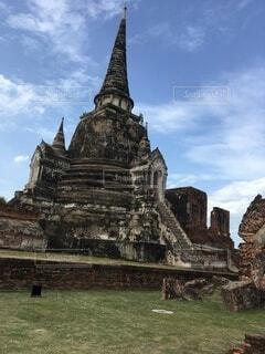 タイ アユタヤ観光の写真・画像素材[3688264]
