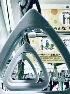 電車の車内。の写真・画像素材[3703863]