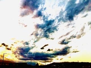 空の雲の群の写真・画像素材[3929752]