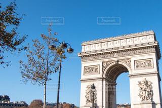 凱旋門,パリの写真・画像素材[4141807]