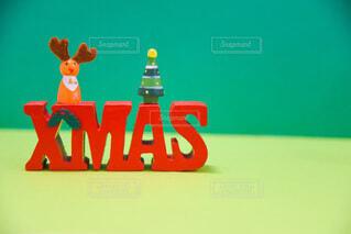 クリスマステキストの写真・画像素材[3719075]