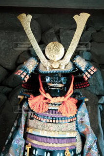 鎧兜の写真・画像素材[3757740]