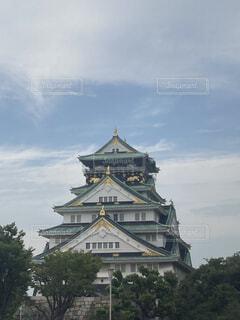 大阪城の写真・画像素材[3692920]