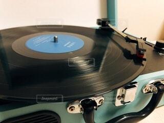 レコードの写真・画像素材[3675929]