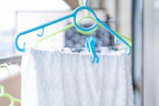 洗濯物を干す 清潔感の写真・画像素材[3763454]