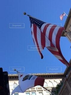 旗の像の写真・画像素材[3693880]