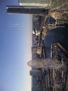 ランドマークタワーの写真・画像素材[3675697]