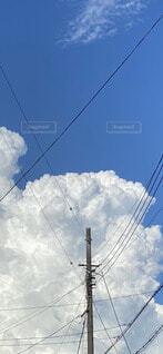 迫力ある雲の写真・画像素材[3683534]