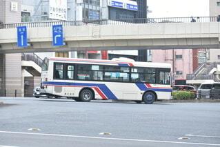 茨交2119 水戸駅バスターミナル降り場への写真・画像素材[4794187]