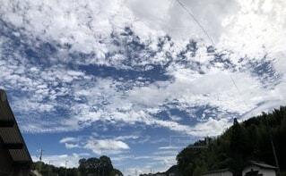 空の雲の群の写真・画像素材[3679680]