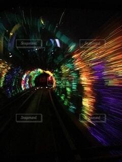 トンネルの写真・画像素材[3681273]