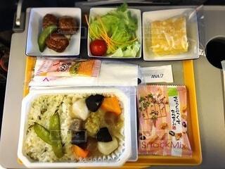 機内食の写真・画像素材[3681283]