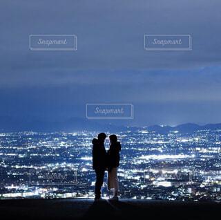 ある夫婦の写真・画像素材[3685838]